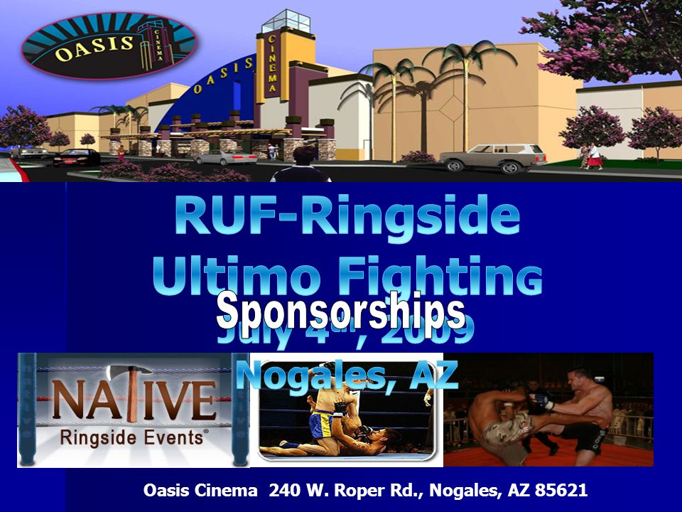 RUF-Ringside Ultimo FightinG