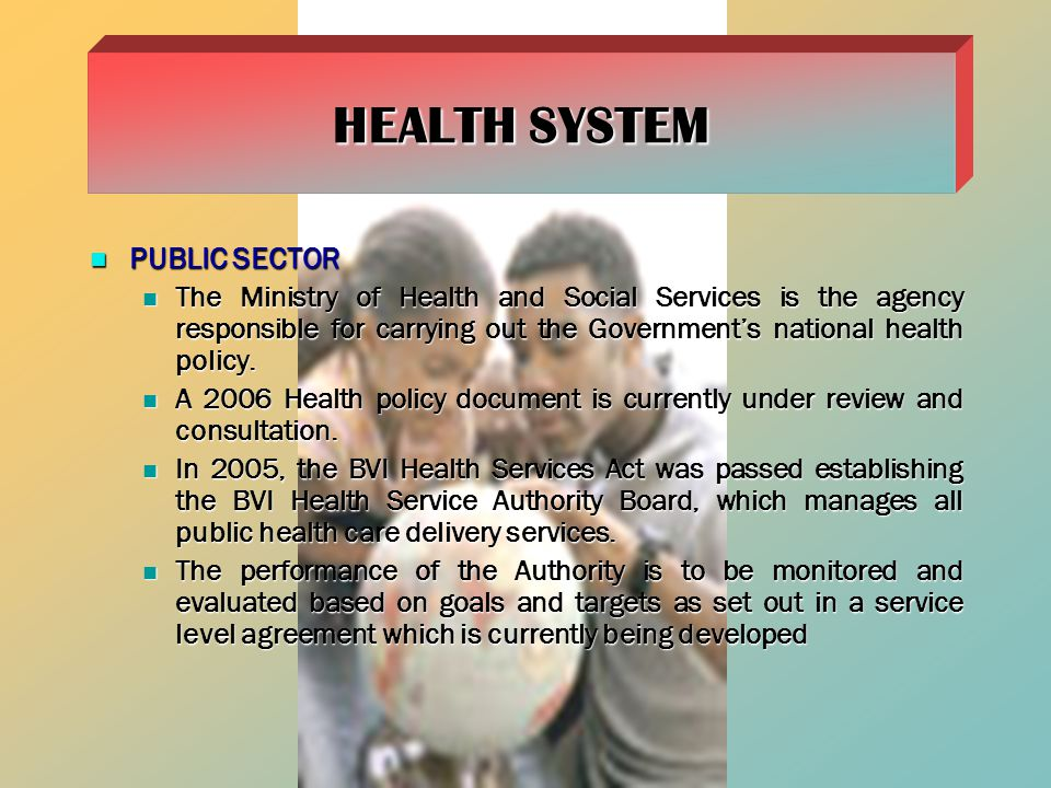 HEALTH SYSTEM PUBLIC SECTOR