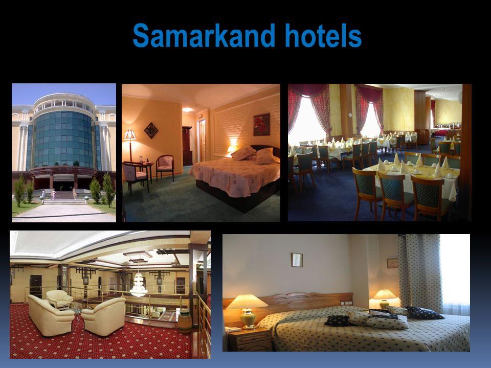 Samarkand hotels