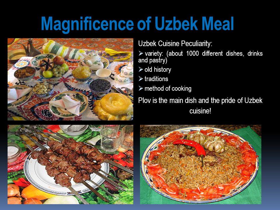 Magnificence of Uzbek Meal