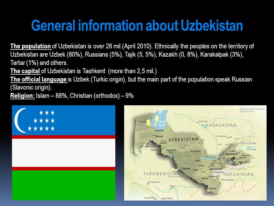 General information about Uzbekistan