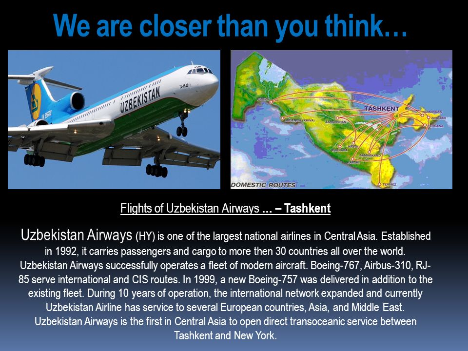 We are closer than you think…