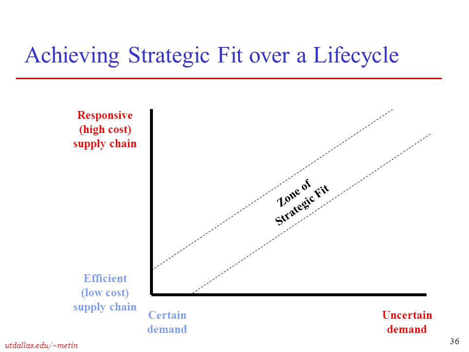 Achieving Strategic Fit over a Lifecycle