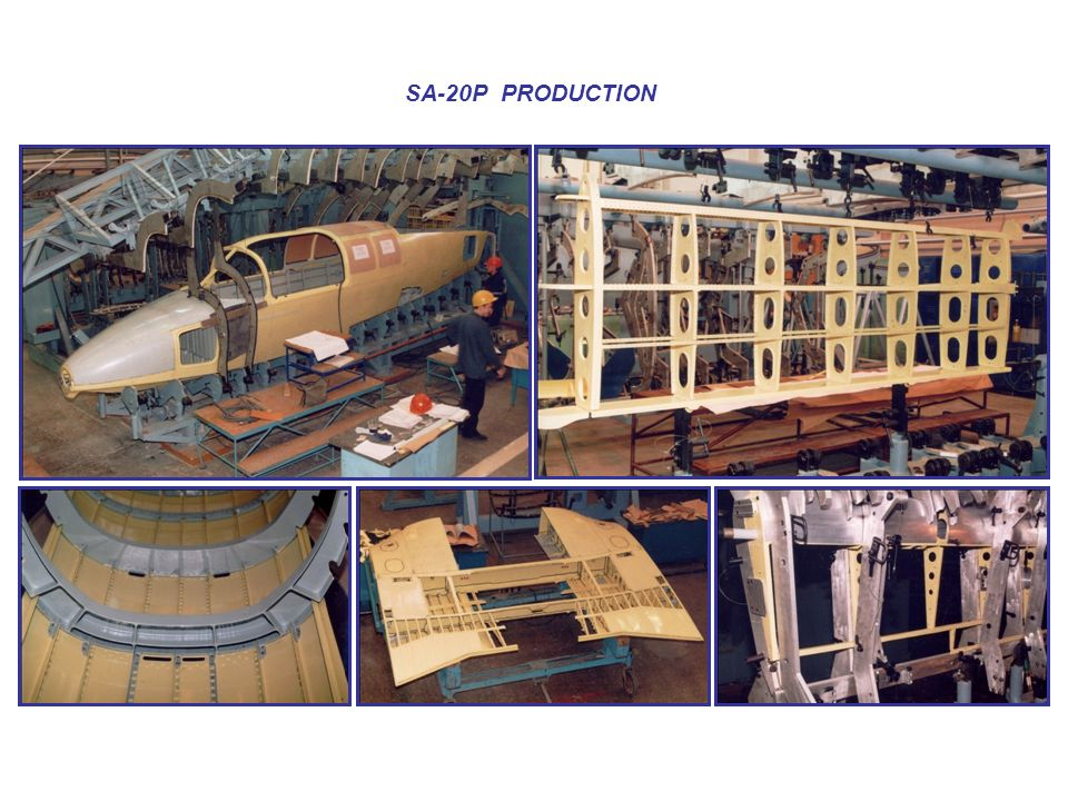 SА-20P PRODUCTION