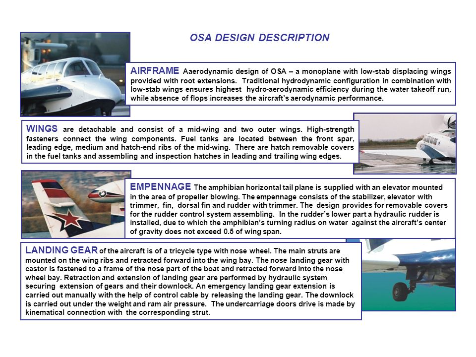 OSA DESIGN DESCRIPTION