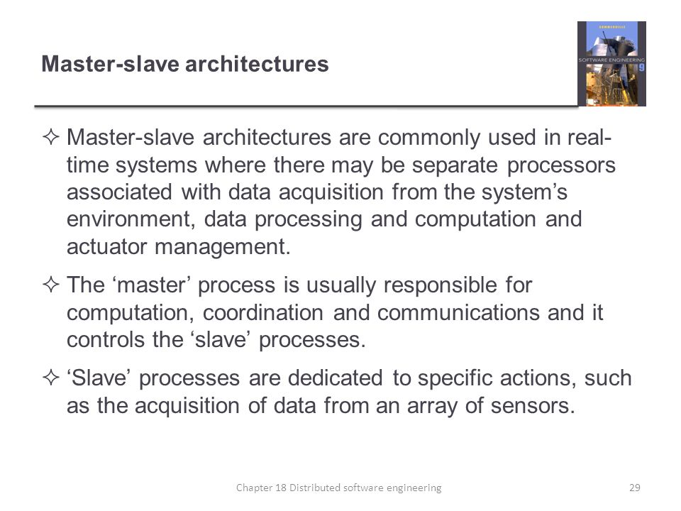 Master-slave architectures