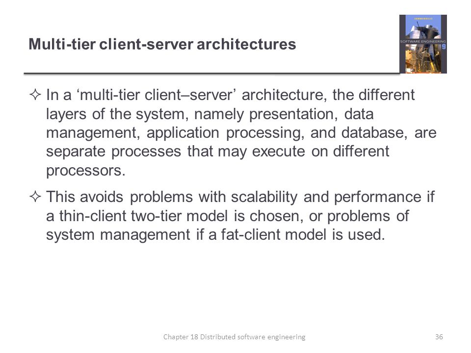 Multi-tier client-server architectures