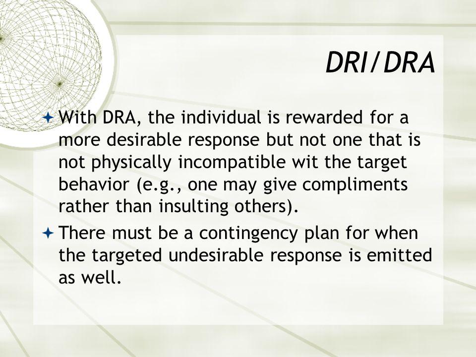 DRI/DRA