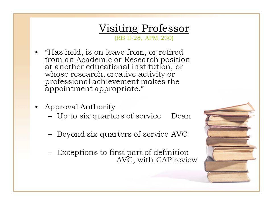 Visiting Professor (RB II-28, APM 230)