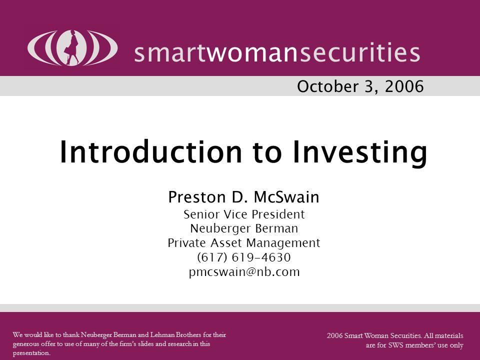 smartwomansecurities