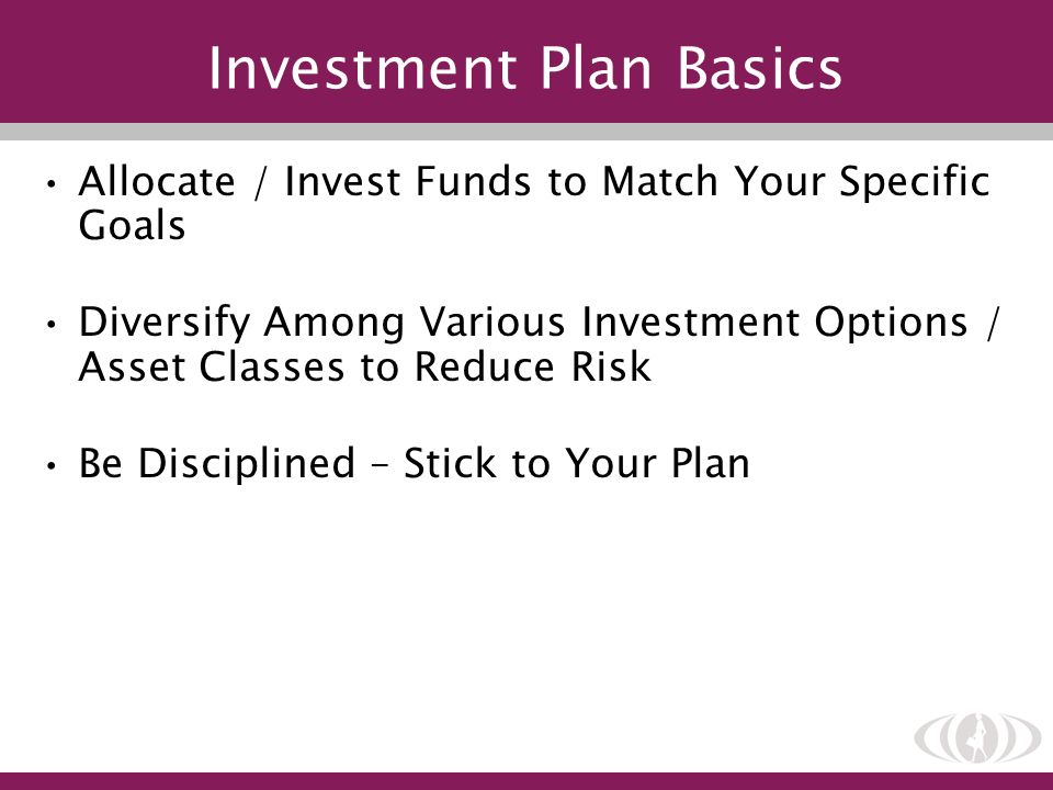 Investment Plan Basics