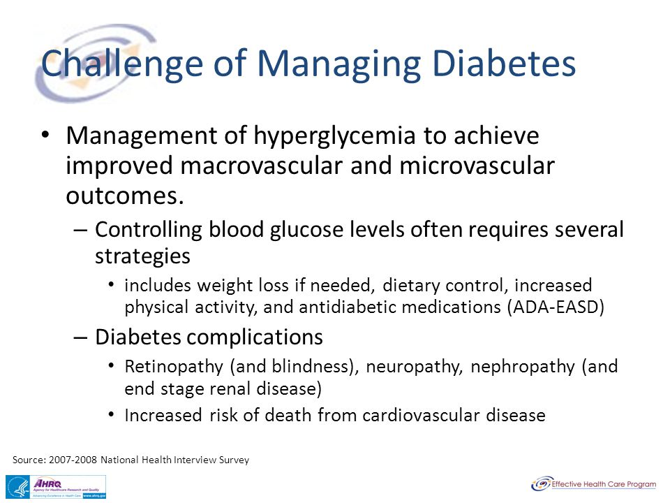 Challenge of Managing Diabetes