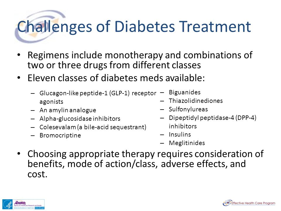 Challenges of Diabetes Treatment