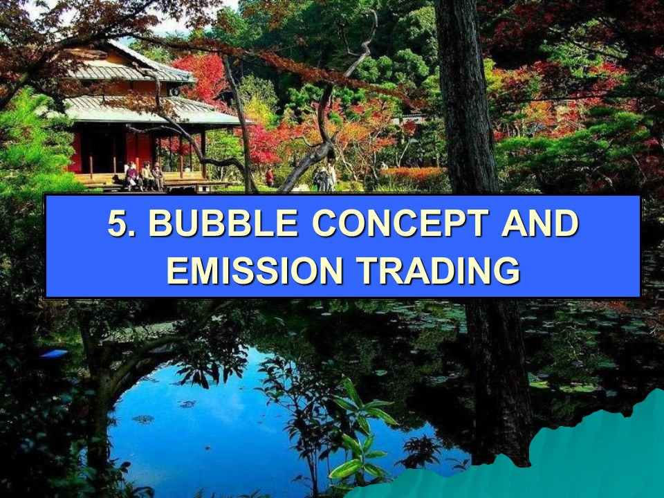 5. BUBBLE CONCEPT AND EMISSION TRADING