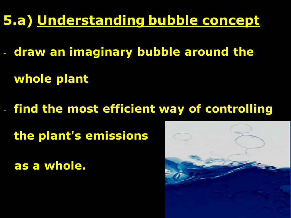 5.a) Understanding bubble concept