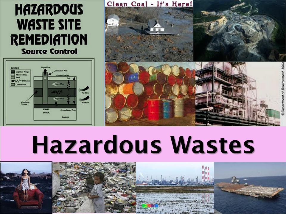 Hazardous Wastes