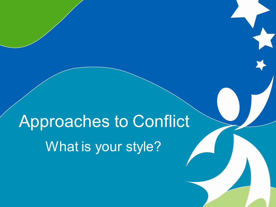 Five Conflict Response Styles