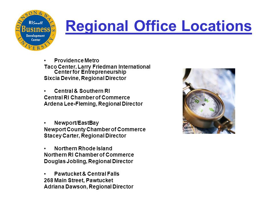 Regional Office Locations