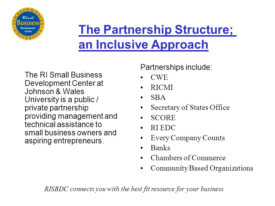 RISBDC connects you with the best fit resource for your business