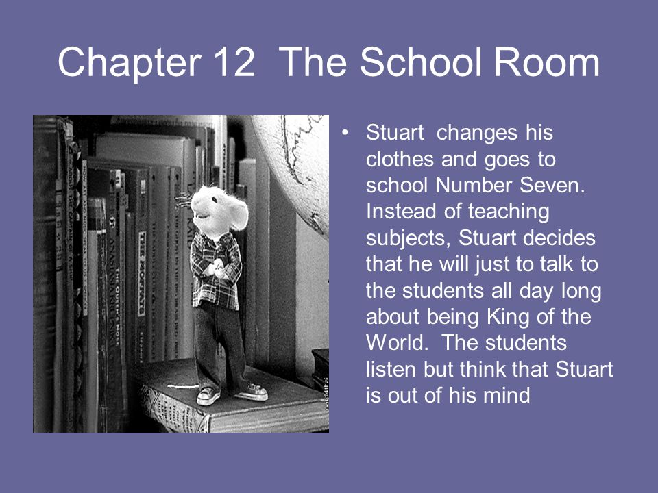 Chapter 12 The School Room