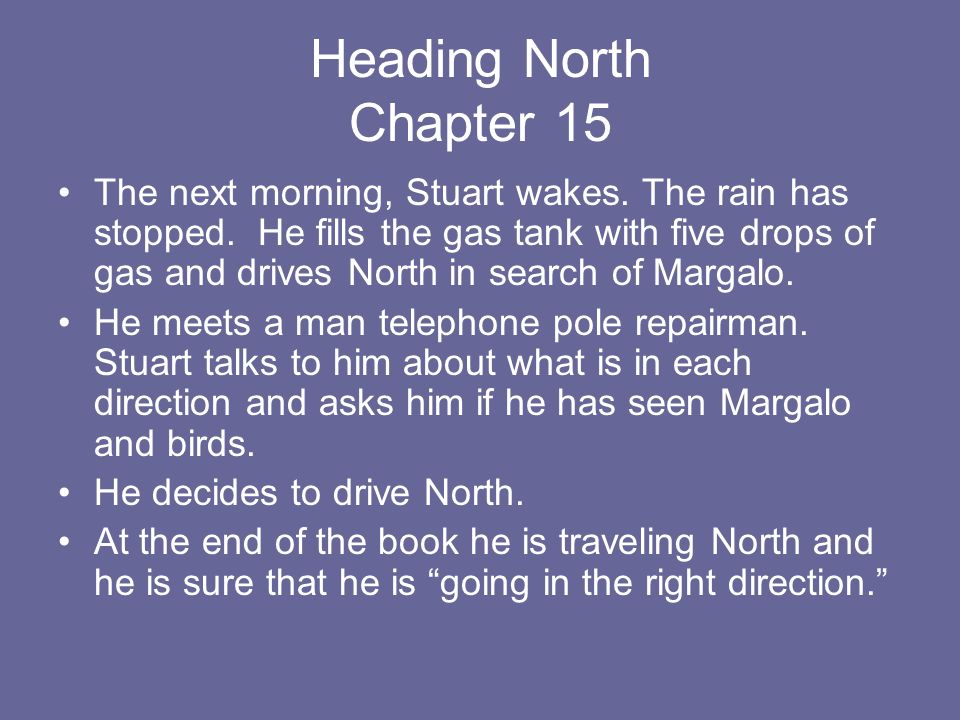 Heading North Chapter 15