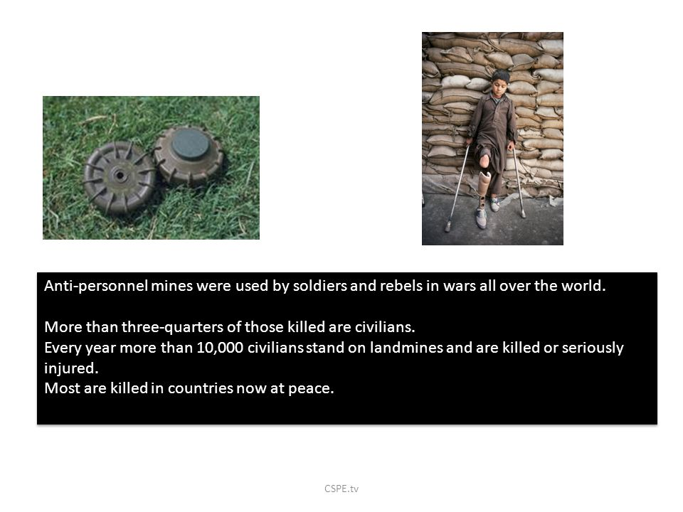 More than three-quarters of those killed are civilians.