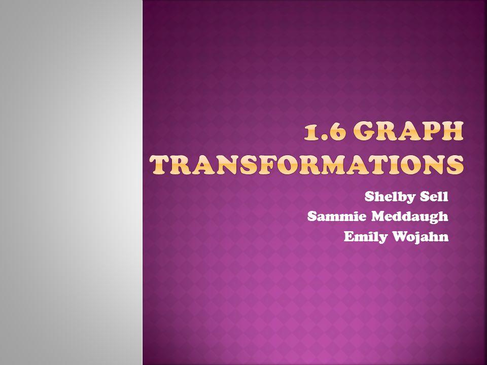 1.6 Graph Transformations