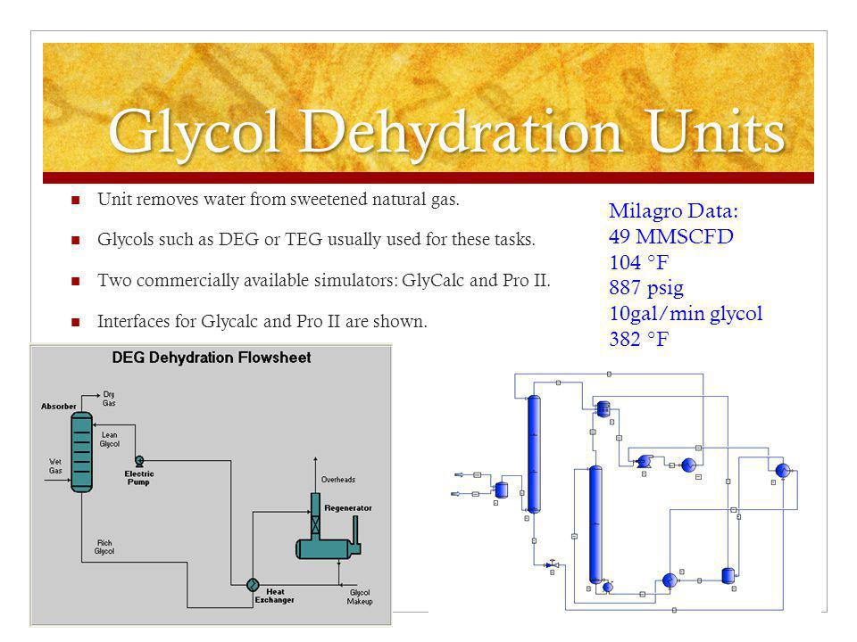 Glycol Dehydration Units