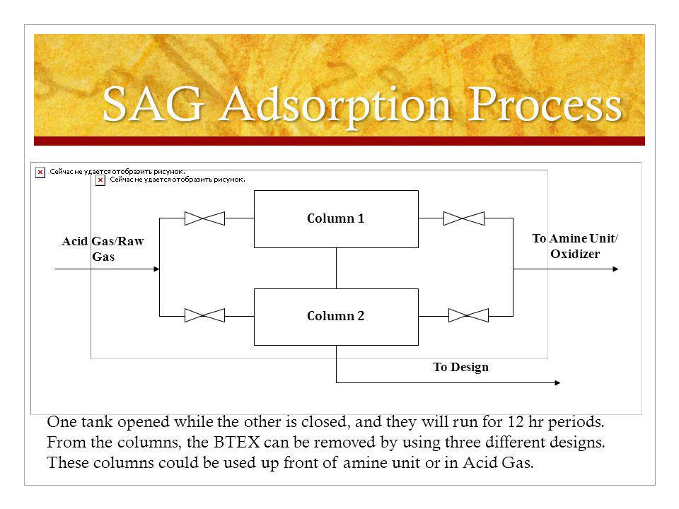SAG Adsorption Process