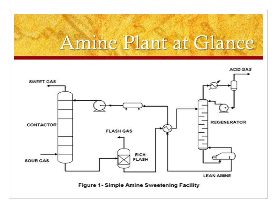 Amine Plant at Glance