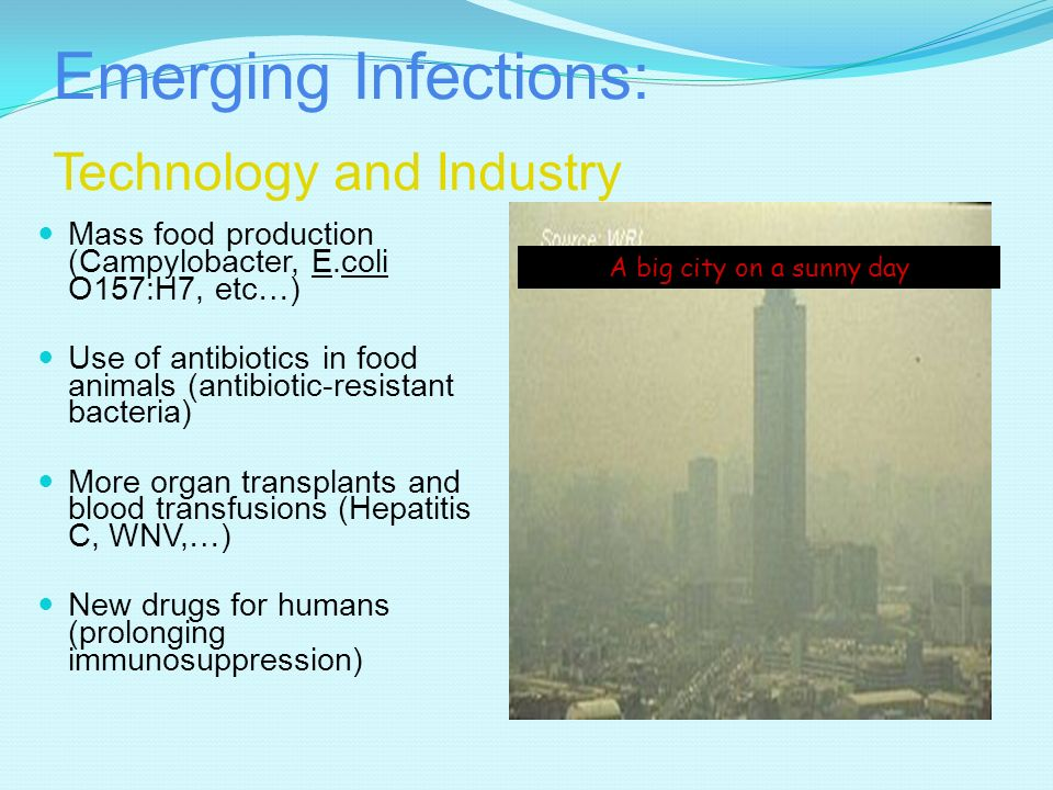 Emerging Infections: Technology and Industry