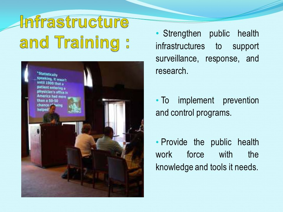 Infrastructure and Training :
