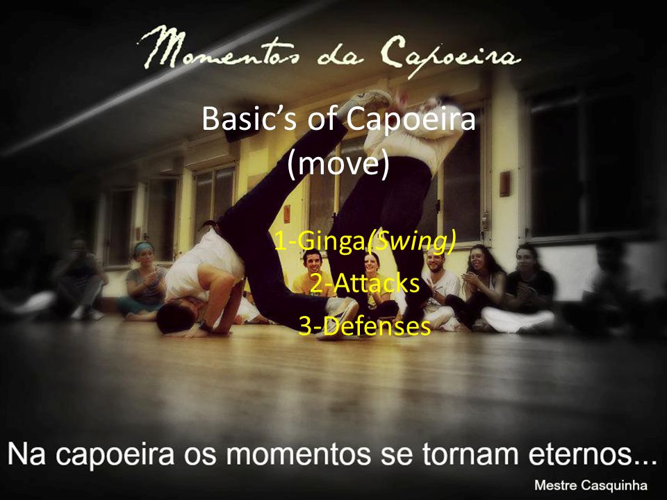 Basic's of Capoeira (move)