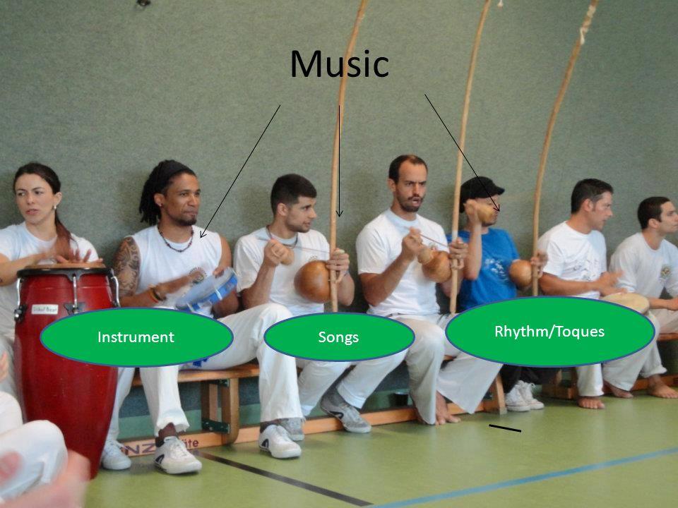 Music Rhythm/Toques Instrument Songs