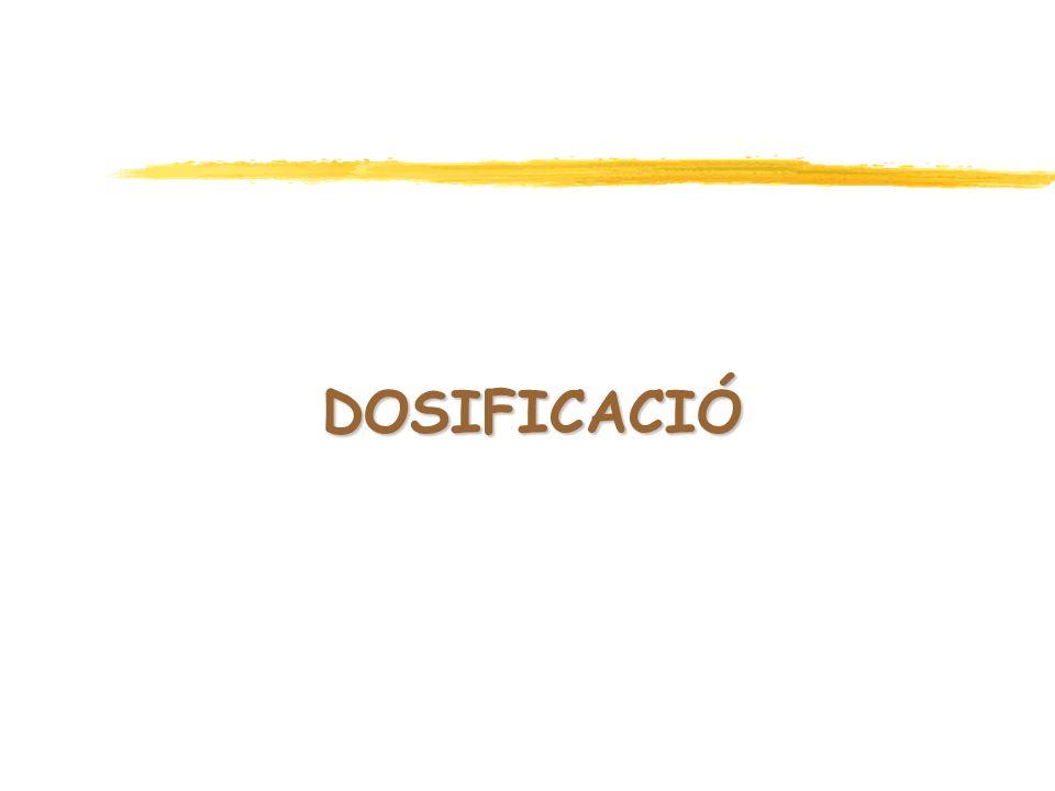 DOSIFICACIÓ