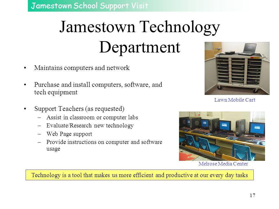 Jamestown Technology Department