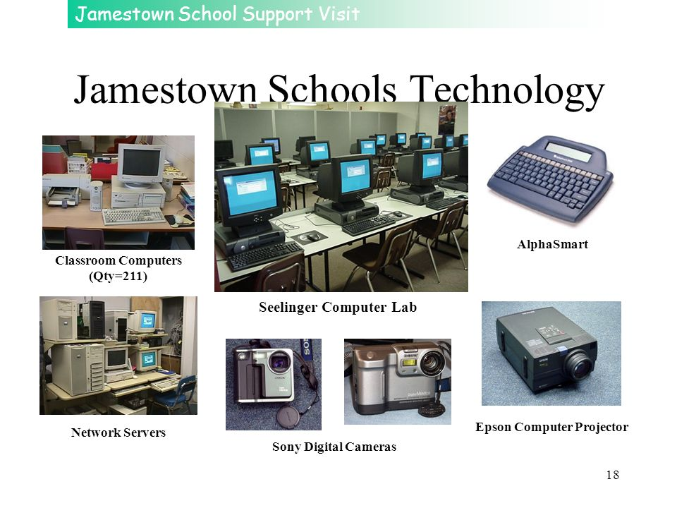 Jamestown Schools Technology