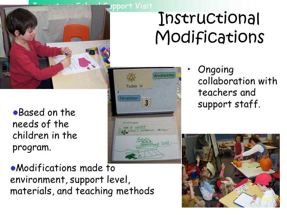 Instructional Modifications
