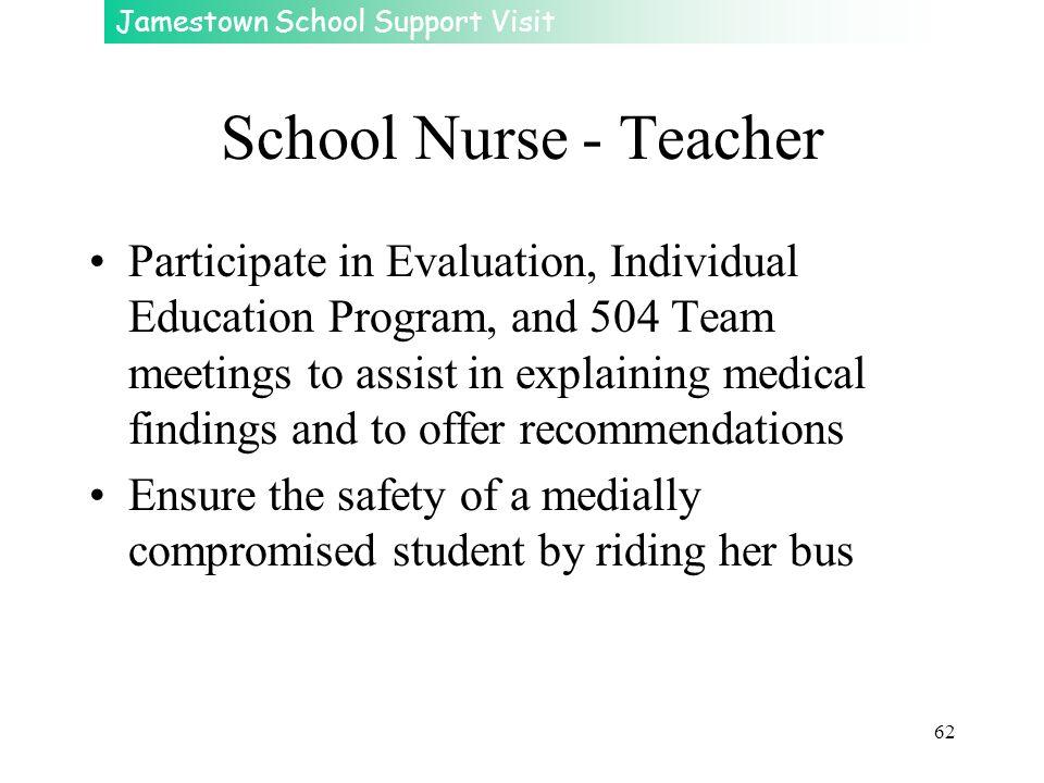 School Nurse - Teacher