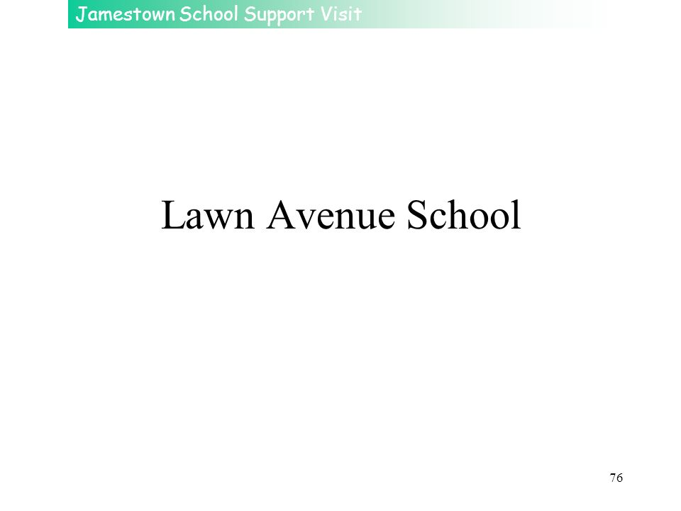 Lawn Avenue School