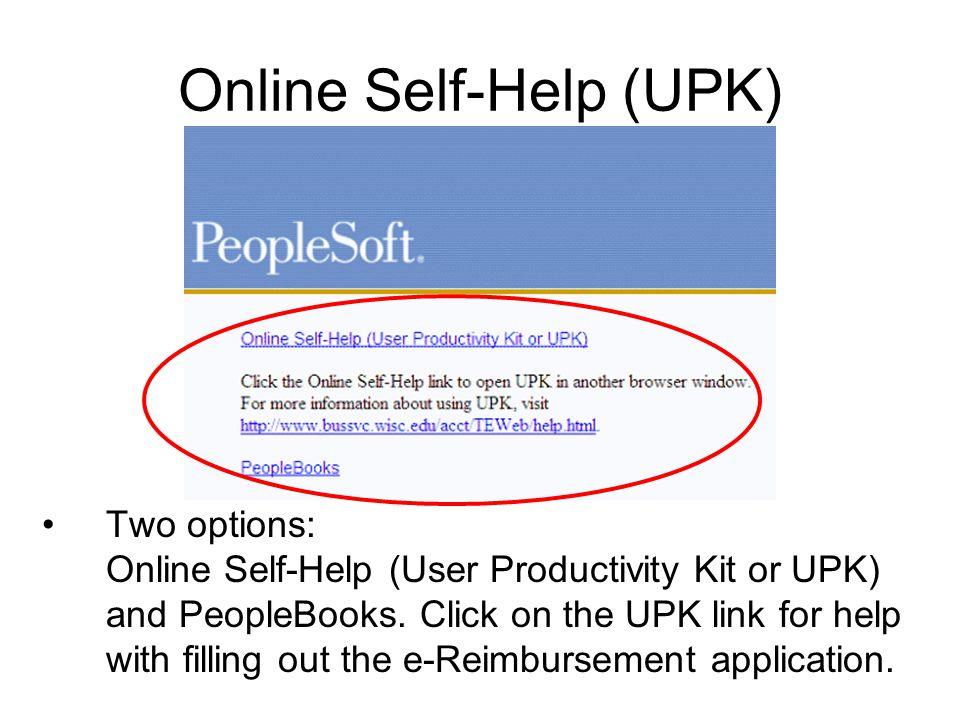 Online Self-Help (UPK)