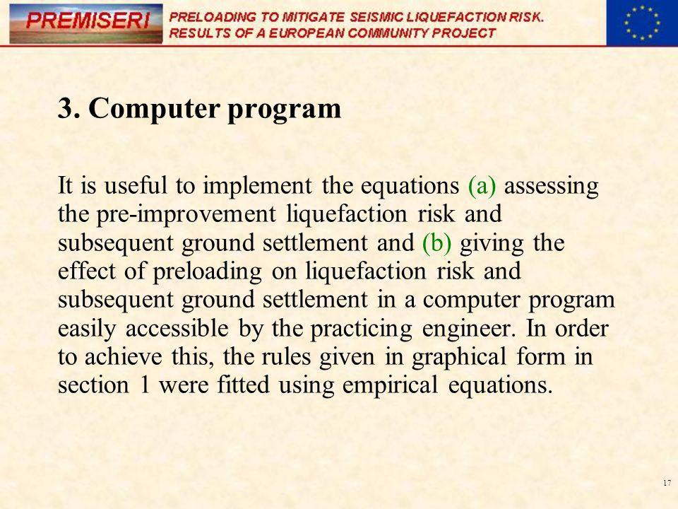3. Computer program