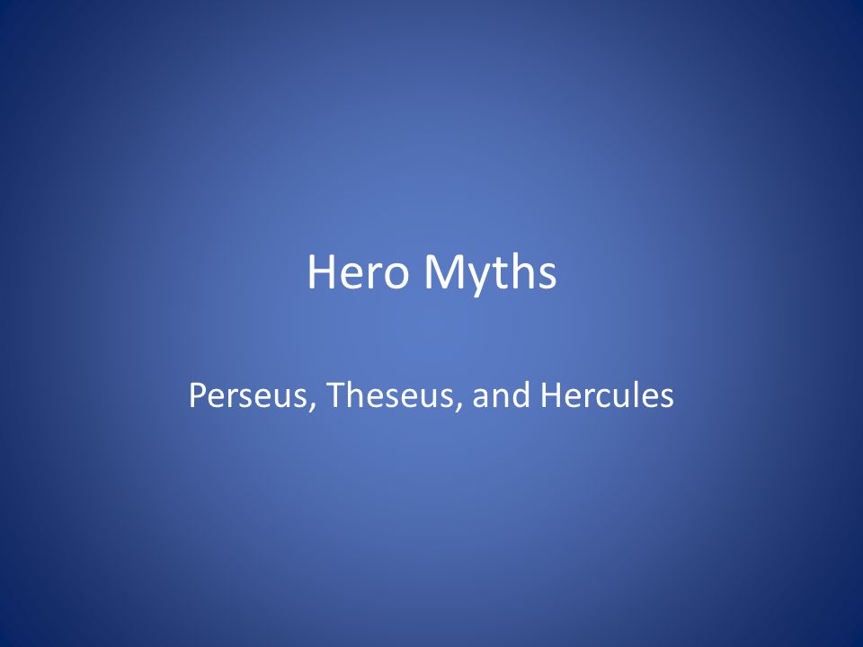 heroes theseus and perseus The heroes — perseus, bellerophon, and heracles the heroes — jason and theseus the heroes — meleager and orpheus the tragic dynasties — crete: the house of.