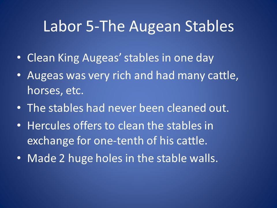 Labor 5-The Augean Stables