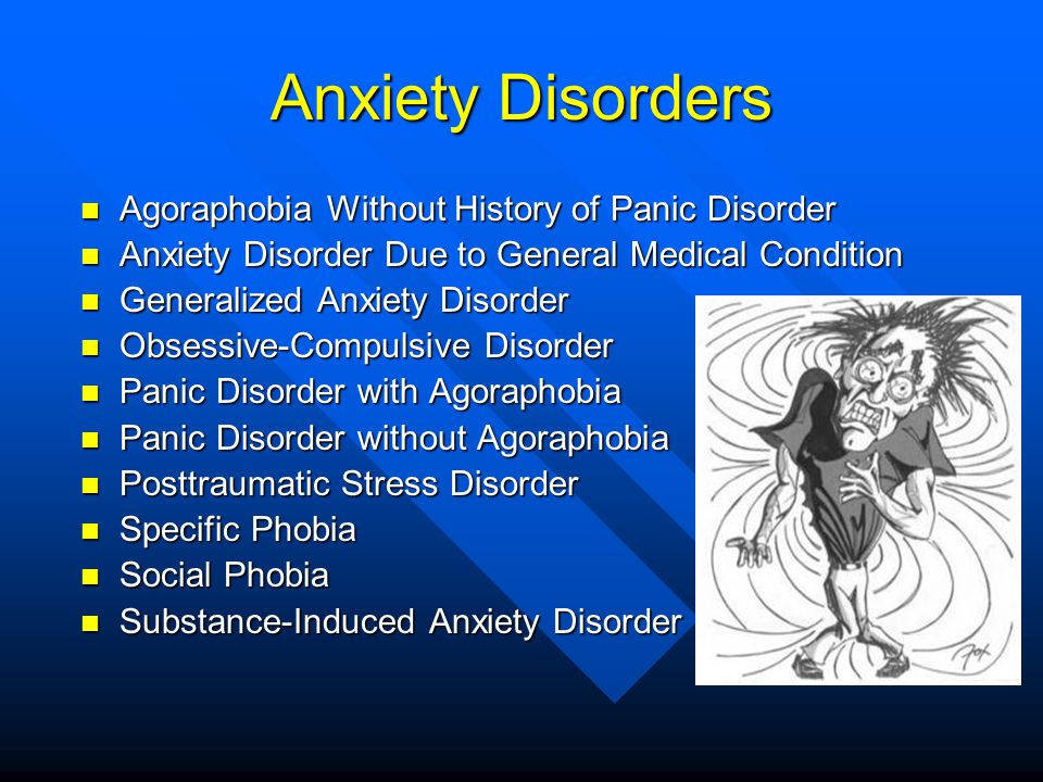 Anxiety Disorders Agoraphobia Without History of Panic Disorder