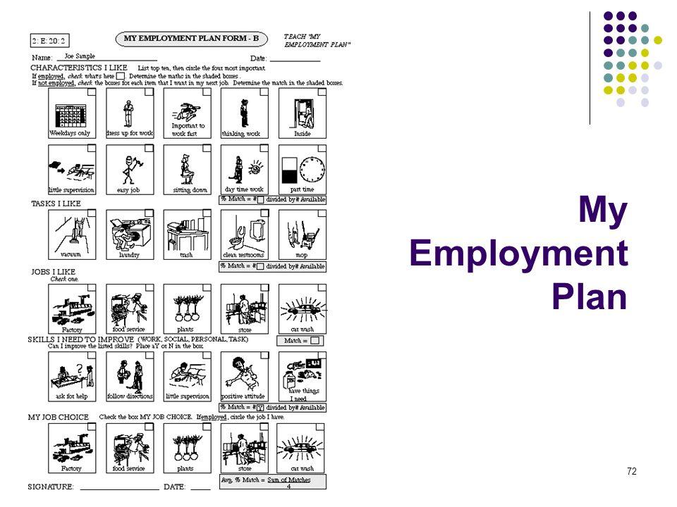 My Employment Plan