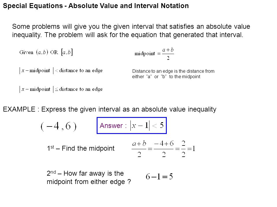 Absolute Value Equation Calculator