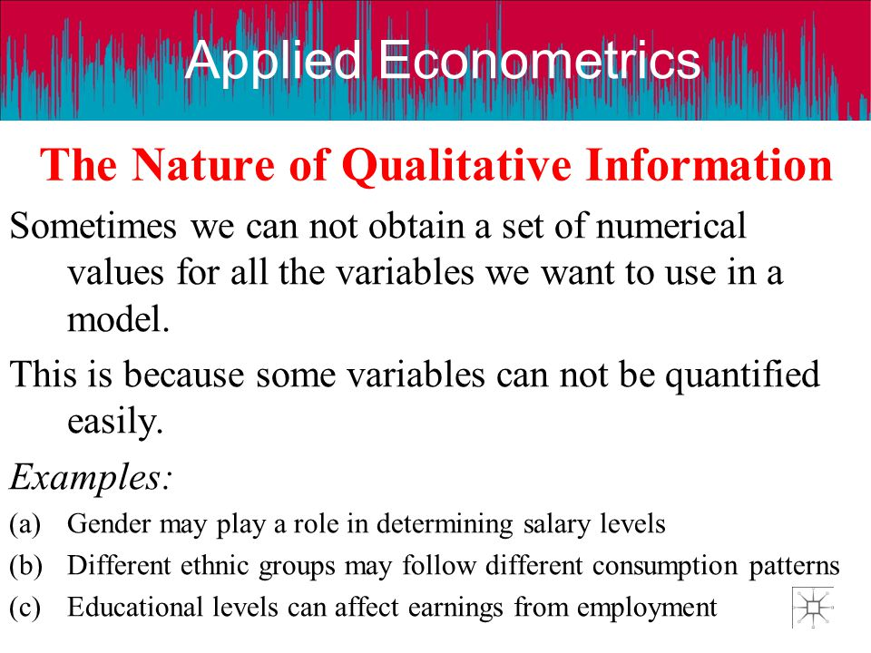 The Nature of Qualitative Information