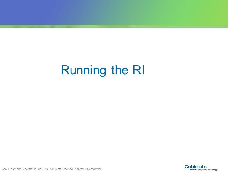 Running the RI 57 57