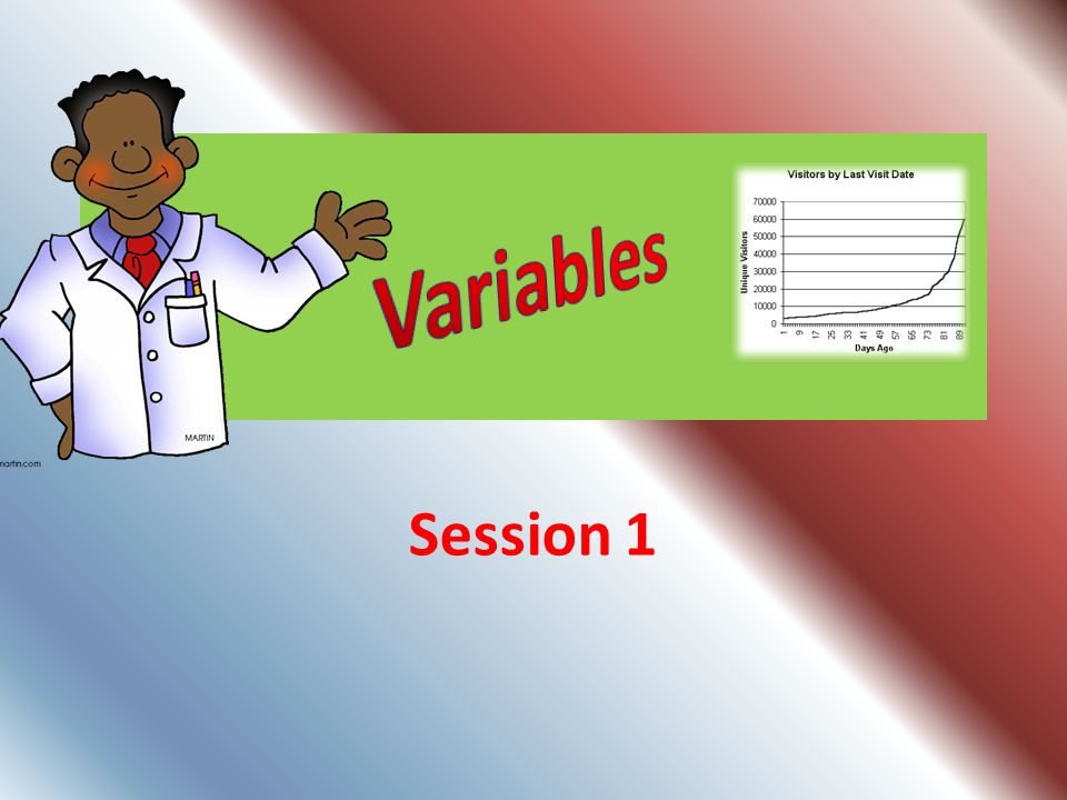 Variables Session 1